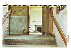 The Chair At The Top Of The Stairs Carry-all Pouch by Holly Blunkall