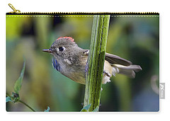 Carry-all Pouch featuring the photograph The Challenge by Gary Holmes