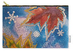 Carry-all Pouch featuring the painting The Change by Margaret Bobb