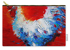 The Chicken Of Bresse Carry-all Pouch by Mona Edulesco