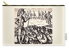 The Chieffe Applyed To By Women Carry-all Pouch by Peter Gumaer Ogden