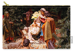 The Christmas Creche At Holy Name Cathedral - Chicago Carry-all Pouch