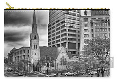 Carry-all Pouch featuring the photograph The Church by Howard Salmon