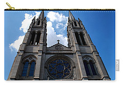 Carry-all Pouch featuring the photograph The Church by Matt Harang