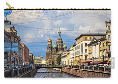 The Church Of Our Savior On Spilled Blood - St. Petersburg - Russia Carry-all Pouch