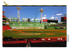 Carry-all Pouch featuring the photograph The Classic  Fenway Park by Iconic Images Art Gallery David Pucciarelli