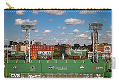 The Classic II Fenway Park Collection  Carry-all Pouch by Iconic Images Art Gallery David Pucciarelli