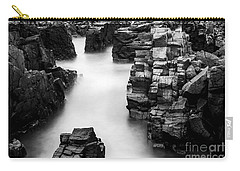 Carry-all Pouch featuring the photograph The Cliffs by Gunnar Orn Arnason