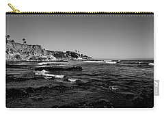 The Cliffs Of Pismo Beach Bw Carry-all Pouch