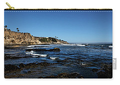The Cliffs Of Pismo Beach Carry-all Pouch by Judy Vincent