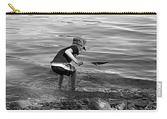Carry-all Pouch featuring the photograph  The Collector by Debbie Oppermann