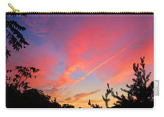 Carry-all Pouch featuring the photograph The Color Gets Good by Kathryn Meyer
