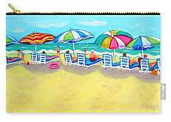 The Color Of Summer  Carry-all Pouch by Rebecca Korpita
