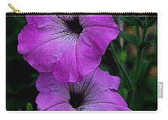 Carry-all Pouch featuring the photograph The Color Purple   by James C Thomas