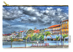 The Colors Of Casco Viejo Carry-all Pouch by Bob Hislop
