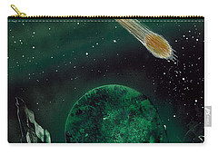 Carry-all Pouch featuring the painting The Comet by Jason Girard