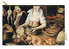 The Cook Carry-all Pouch by Pieter Cornelisz van Rijck