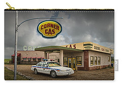 The Corner Gas Station From The Canadian Tv Sitcom Carry-all Pouch