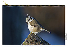 The Crested Tit In The Sun Carry-all Pouch