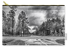 Carry-all Pouch featuring the photograph The Crossroads by Howard Salmon