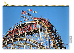 Carry-all Pouch featuring the photograph The Cyclone by Ed Weidman