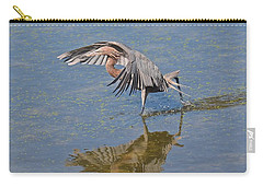 Carry-all Pouch featuring the photograph The Dance by Carol  Bradley