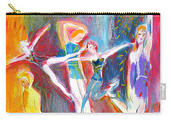 The Dancers Carry-all Pouch by Mary Armstrong