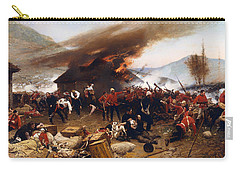 The Defence Of Rorke's Drift 1879 Carry-all Pouch by Mountain Dreams