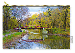 The Delaware Canal Near New Hope Pa In Autumn Carry-all Pouch