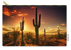 The Desert Awakens  Carry-all Pouch by Saija  Lehtonen