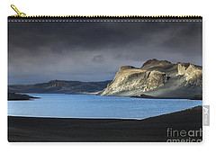 Carry-all Pouch featuring the photograph The Desert by Gunnar Orn Arnason