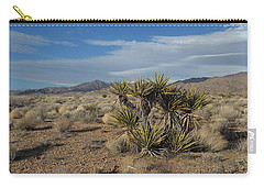 The Desert In Winter Carry-all Pouch