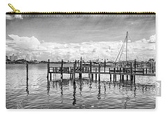 Carry-all Pouch featuring the photograph The Dock by Howard Salmon