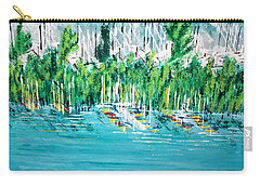 The Docks Carry-all Pouch by George Riney