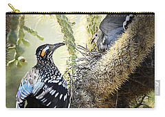 The Dove Vs. The Roadrunner Carry-all Pouch by Saija  Lehtonen