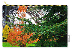 The Eiffel In Fall Carry-all Pouch