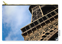 The Eiffel Tower From Below Carry-all Pouch