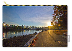 Carry-all Pouch featuring the photograph The Emerald City by Eti Reid