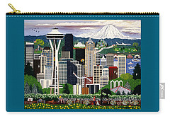 The Emerald City Seattle Carry-all Pouch
