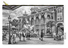 Carry-all Pouch featuring the photograph The Emporium by Howard Salmon