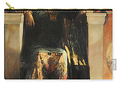 The Empress Theodora Carry-all Pouch by Jean-Joseph Benjamin-Constant