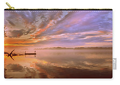 Carry-all Pouch featuring the photograph The End by Lisa Wooten