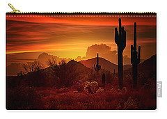 The Essence Of The Southwest Carry-all Pouch