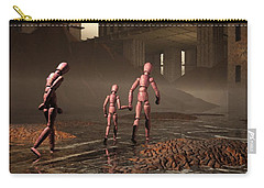 Carry-all Pouch featuring the digital art The Exiles Sojourn by John Alexander