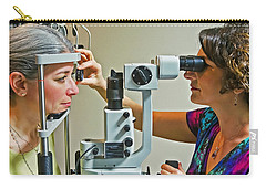 Carry-all Pouch featuring the photograph The Eye Doctor by Keith Armstrong