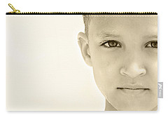 The Eye Of A Child Carry-all Pouch by Charles Beeler
