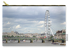 Carry-all Pouch featuring the photograph The Eye Of London by Keith Armstrong