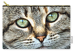 The Eyes Have It Carry-all Pouch by Kenny Francis