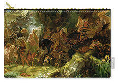 The Fairy Raid Carry-all Pouch by Sir Joseph Noel Paton