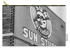The Famous Sun Studio In Memphis Tennessee Carry-all Pouch by Dan Sproul